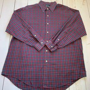 Ralph Lauren - Yarmouth Red & Blue Plaid Shirt
